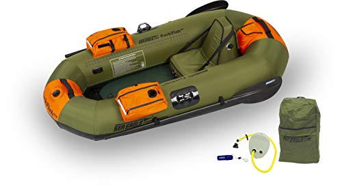 The Sea Eagle PackFish7™ inflatable fishing boat