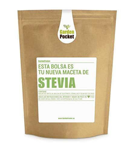 Garden Pocket - Kit de Cultivo de STEVIA - Bolsa Maceta