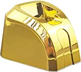 Kaynway Hair Clippers Charging Dock, Professional 2 in 1 Clipper Charging Stand Storage Station Base for Wahl Cordless 5-Star Magic Clip Senior Sterling-4 Clipper (Gold)