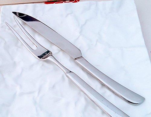 PINTI 1929 Set à rôtir série Forge &apos Couteau avec fourchette en acier inoxydable les exclusifs
