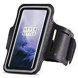 UC-Express Schutzhülle kompatibel für OnePlus 7 Pro Jogging Handy Tasche Schwarz Sportarmband Sport Hülle Fitnesstasche Lauf Hülle