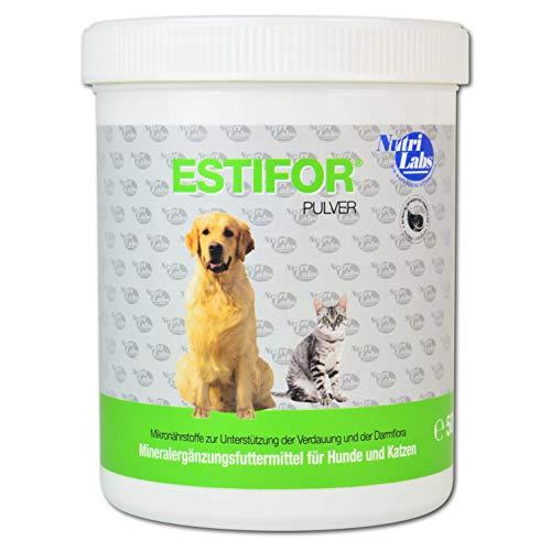 NutriLabs Estifor Ergänzungsfuttermittel Futterm Pulver für Hunde, 1er Pack (1 x 500 g)