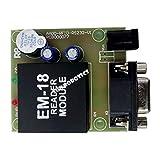 SunRobotics EM18 BASED RFID READER MODULE 125KHZ WITH UART INTERFACE 5cm RFID Range For 125Khz Card/Tag Detection Uno R3/Rpi compatible