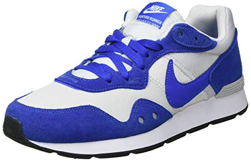 Nike Venture Runner, Zapatillas para Correr Hombre, Photon Dust Game Royal White Black, 44 EU