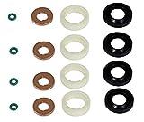 Kit de joint d'injecteur de carburant + rondelle + joint torique pour moteur 1.6 TDCi/HDi 3M5Q9F593DB, 1318562, 1250976, 1483820, 1609848280