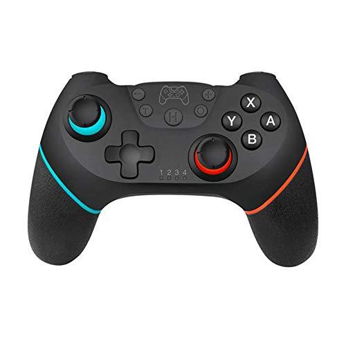 KKmoon Controlador de joystick de jogo sem fio Bluetooth com controle de jogo com cabo de 6 eixos compatível com console Switch Pro Gamepad