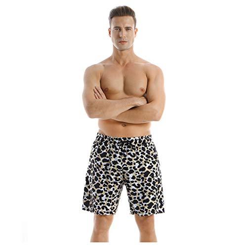 Brizz Badpak, vader en zoon, zomerplant, bedrukte strandbroek, ouders, outfit, mannen en jongens, broek, familiekleding, zwemkostuum, strandpak, heren, modieus, short, zwembroek