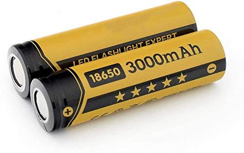 6/8/10 PCS 3.7V 3400MAH 18650 Baterías de Litio de Iones de Litio para la Linterna del Banco de energía 3.7V PCB Protegido 3400mAh NCR células 6pieces-2pcs
