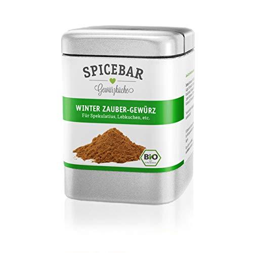 Spicebar   Winter Zauber Gewürz   Bio   Lebkuchen   Spekulatius   Weihnachtsbäckerei   70g