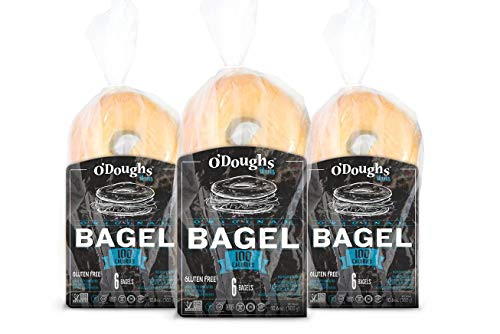 O'doughs Gluten Free Original Bagel Thins,, 18 Oz (pack Of 6)