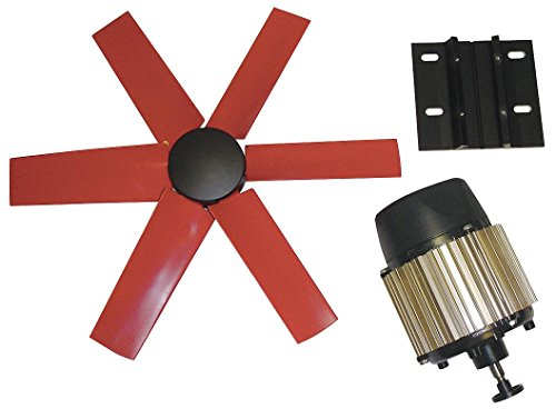 """Multifan 20"""" Corrosion Resistant Exhaust Fan Kit, Number of Blades 6, 1 Phase, Motor RPM 1580-7HX79"""
