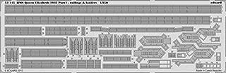 Eduard Photoetch 1:350 - HMS Queen Elizabeth 1943 - Railing & Ladders (TRU05324) by Eduard