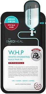 Mediheal W.H.P ホワイト ハイドレイティング ブラック マスク EX 25mL x20本 (W.H.P White Hydrating Charcoal-Mineral Mask 20ea)[海外直送品]