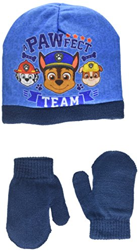 Nickelodeon Baby Boys' Paw Patrol Pawfect Squad Stars Hat, Blue, 1.5 (Size:...