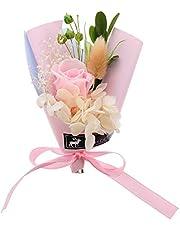 BESPORTBLE 1Pc Caja de Regalo de Ramo de Flores Inmortales Preservadas Flores Frescas Regalo de San Valentín