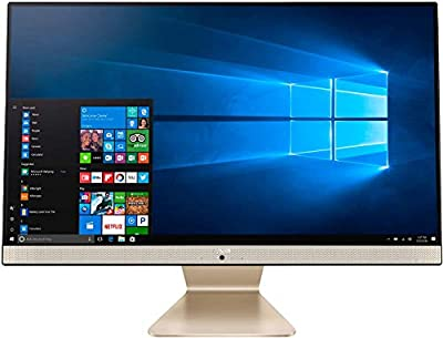 "ASUS V241 23.8"" FHD IPS Anti-Glare All-in-One Desktop PC, AMD Ryzen 3 3250U, 16GB DDR4, 1TB SSD, Webcam, Bluetooth, Kensington Lock, HDMI, Windows 10, Wired Keyboard + Mouse + ABYS Mouse Pad"