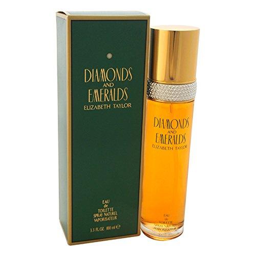 Elizabeth Taylor 23468 Acqua di Colonia Diamonds And Emeralds per Donna - 100 ml