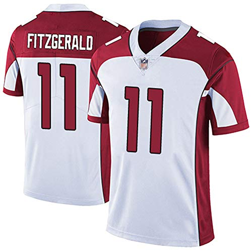LLXLJ Rugby-Trikot Arizona Cardinals Arizona Cardinals 1# 11# 31# Fitzgerald Elite Legend's Besticktes Trikot der zweiten Generation,3,S