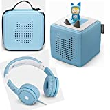 Toniebox Starterset Blau + Ordnungsbox für viele Tonies + Kinderkopfhörer Tonie-Lauscher