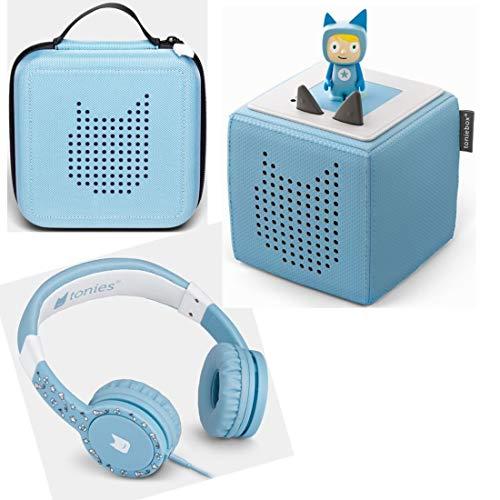 Toniebox Starterset Blau + Ordnungsbox für viele...