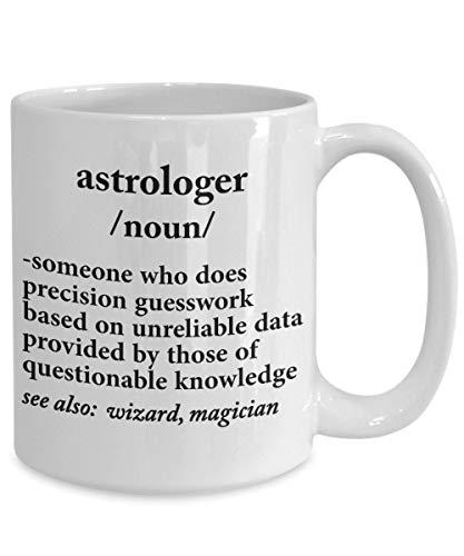 DKISEE Astrologer Definition Coffee Mug Gift Astrologer Cup Astrology Coffee Mug Astrology Gifts For Women Astrology Gifts For Men Large Mug 15oz