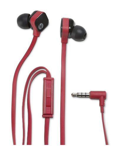 HP In-Ear Stereo Headset H2300 Ruby Red