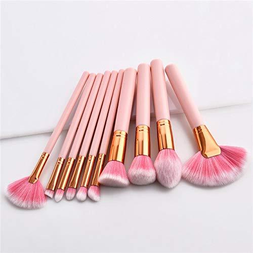 MEISINI La base de femmes de kits de brosse de maquillage composent des outils de brosse réglés pour le revêtement d'oeil de lèvre