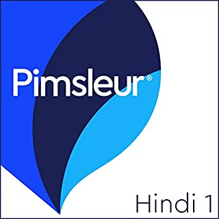 Pimsleur Hindi Level 1 audiobook cover art