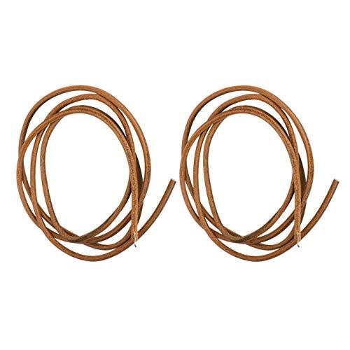 Astibym Cinturón de máquina de Coser Componentes prácticos Uso Profesional(Brown)