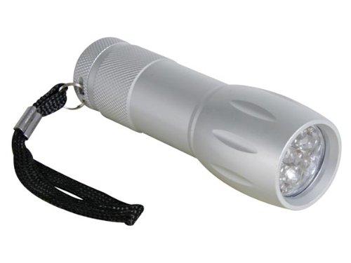 Velleman Torche a led - 9 leds - boitier en alliage aluminium