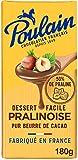 Poulain Tablette Chocolat Pralinoise, 180g