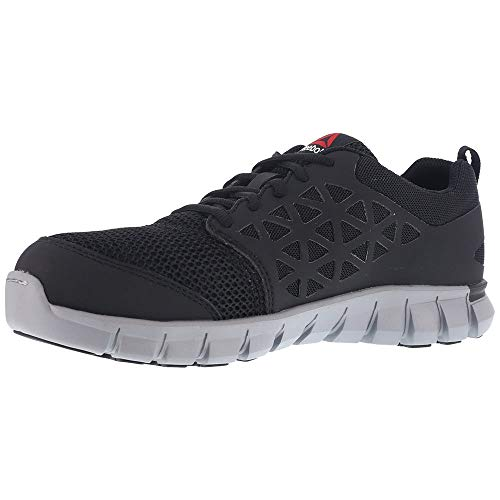 Reebok Work Men's Sublite Cushion Alloy Toe Comfort Athletic...