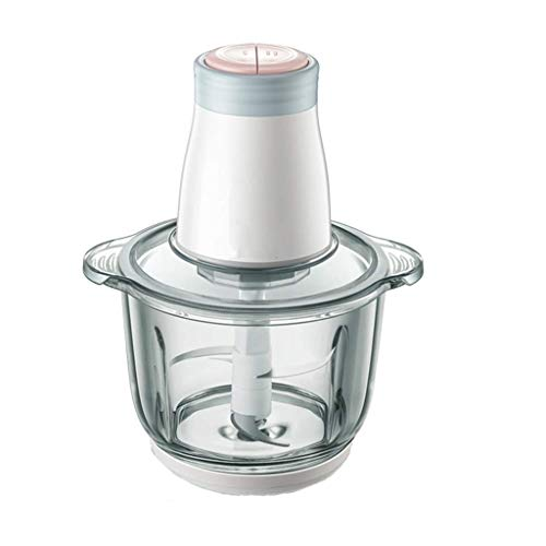 Adesign Küchenmaschine Mixer Elektrischer Gemüsehacker Multifunktionaler Fleischhacker Gemüse- und Obstmixer Mixer Edelstahlklingen