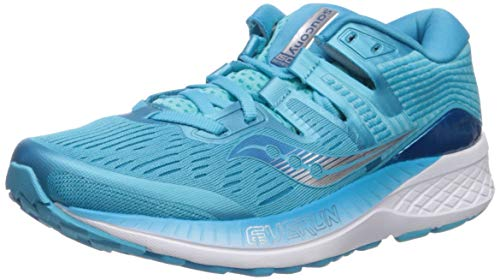 Saucony Womens Ride ISO Running Shoes S10444-36Blue 7