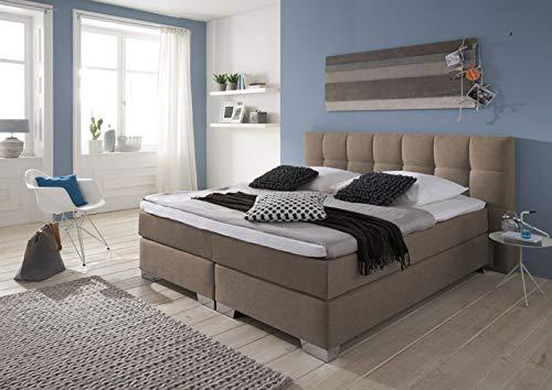 Boxspringbett Modell Home in Cappuccino Braun kaufen  Bild 1*