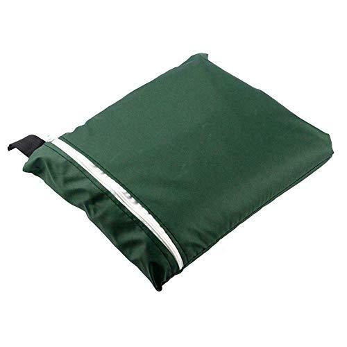 vrsupin0 Columpio Silla Cubierta Plegable Nieve Protector Patio Lavable Jardín Colgante Exterior Cremallera Mobiliario Oxford Paño Anti Polvo Hogar Impermeable (Negro) - Verde, Free Size