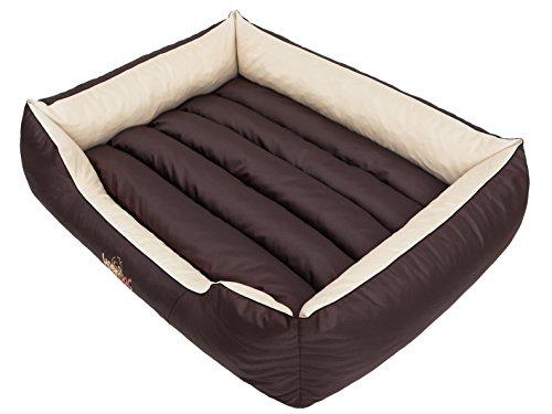 Hobbydog CORBZK6 hondenbed hondensofa hondenmand dierbed Comfort, L, 65 x 50 cm, bruin met room
