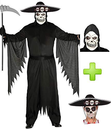 Disfraces Halloween Disfraz de Muerte Mejicana