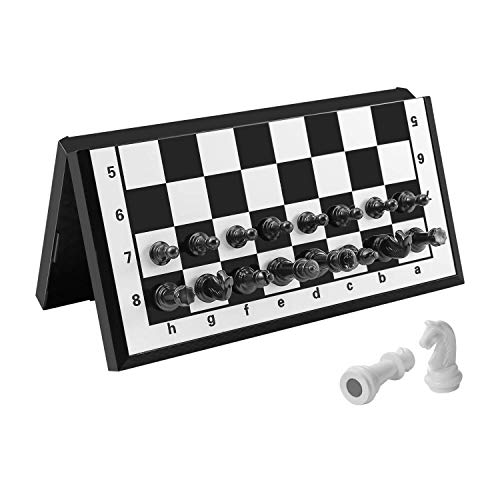 FanVince Chess Set Magnetic Travel Folding Board Games Portable Gifts for Kids and Adults