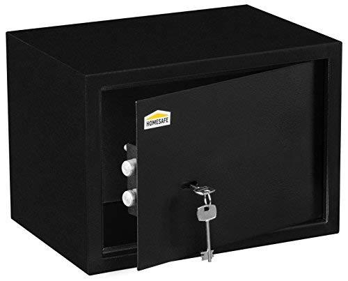 Homesafe HV25K cassaforte con serrattura meccanica - 25x35x25cm (HxWxD), Cassaforte con serratura meccanica