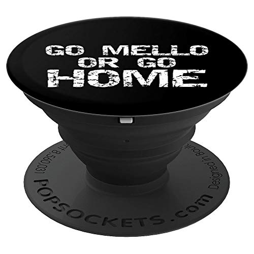 Funny Mellophone Pun Band Quote for Men Go Mello or Go Home - PopSockets Ausziehbarer Sockel und Griff für Smartphones und Tablets