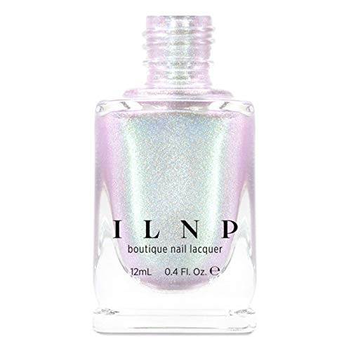 ILNP Talk It Up - Dusky Pink Holographic Shimmer Nail Polish