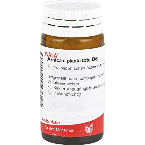 WALA Arnica e planta tota D6 Globuli velati, 20 g Globuli