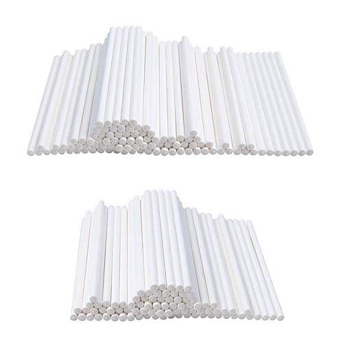 White Lollipop Sticks