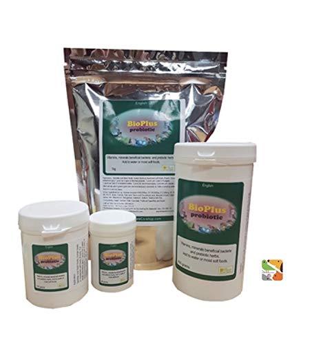 The Birdcare Company 40g BioPlus Probiotics - Pet Birds, Pigeon, Poultry, Raptor
