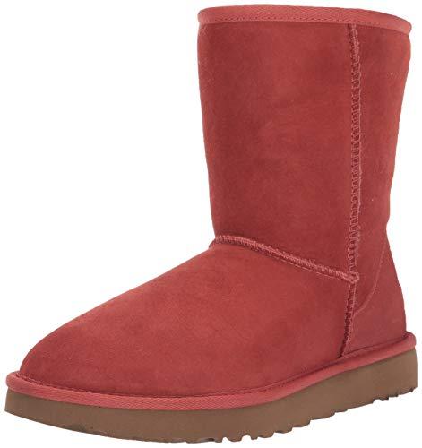 UGG Women's Classic Short II Fashion Boot, Terracotta, 5 M US