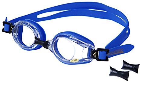 AQUA-SPEED - Optische Herren Schwimmbrille Mit Sehstärke, Blau 1, -4,0