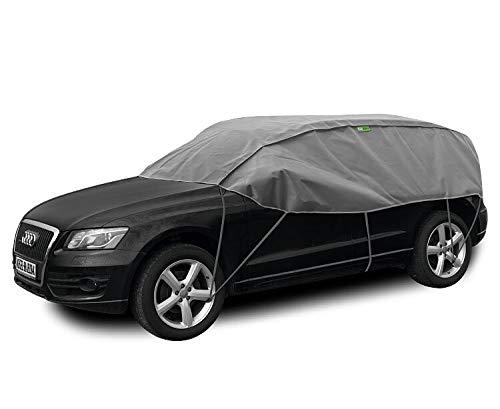 Kegel Blazusiak Halbgarage Winter SUV kompatibel mit Volkswagen Tiguan UV Schutz Auto Abdeckung
