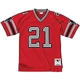Mitchell & Ness Atlanta Falcons Sanders 1989 Red NFL Legacy Jersey Throwbacks Vintage Logo