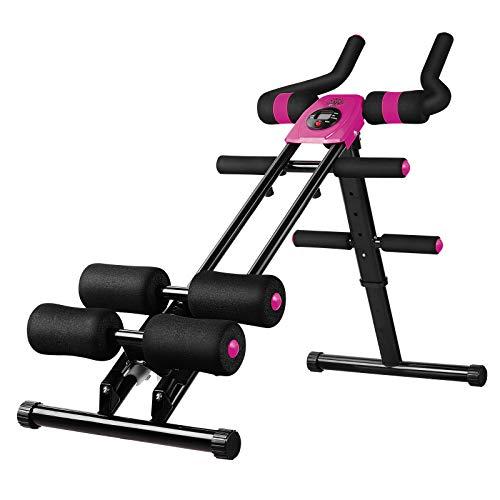 【5 livelli di Resistenza Aumentano La Forza Muscolare】5 diversi livelli di resistenza sono adatti a diversi utenti e il suo design ergonomico rende l'esercizio più efficace. Ogni giorno 5 minuti di allenamento possono bruciare i grassi a lungo termin...